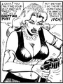 Stylish black and white porn bdsm comics - Picture 3