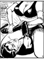 Stylish black and white porn bdsm comics - Picture 4