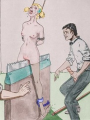 Dirty pics with awful scenes of bdsmart - BDSM Art Collection - Pic 10