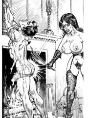 Lots of violence and dirty painful sex - BDSM Art Collection - Pic 6
