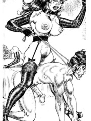 Lots of violence and dirty painful sex - BDSM Art Collection - Pic 11