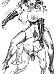 Lots of violence and dirty painful sex - BDSM Art Collection - Pic 12