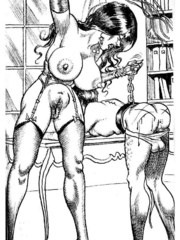 Lots of violence and dirty painful sex - BDSM Art Collection - Pic 13