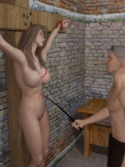 Wonderful 3d comics with the dirtiest - BDSM Art Collection - Pic 6