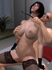 Cool 3d bdsm comix with bald dude - BDSM Art Collection - Pic 13