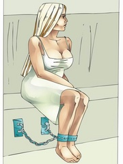 Gets high watching cool fetishartwork - BDSM Art Collection - Pic 6