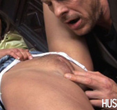 Her best friend's daddy gets horny and licking her…