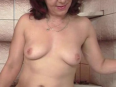 Dirty red mom seduces her son's blonde - XXX Dessert - Picture 6