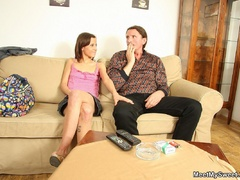 His slutty girlfriend licking his mom's - XXX Dessert - Picture 18