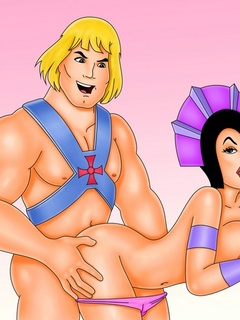Famous toon heroes enjoys fucking in awesome porn - Picture 3