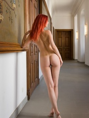 Magnificent red girl with sexy body posing - XXX Dessert - Picture 11