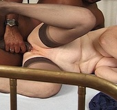 Dirty nan gets banged hard in doggy style by a…