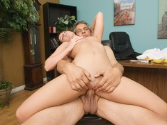 Nasty red slut gets her cooch stuffed with - XXX Dessert - Picture 9