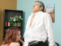 Nasty red slut gets her cooch stuffed with - XXX Dessert - Picture 14
