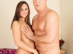 Lustful old fart slides his thick boner - XXX Dessert - Picture 13