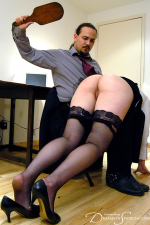 Hot secretary in glasses and stockings g - XXX Dessert - Picture 8