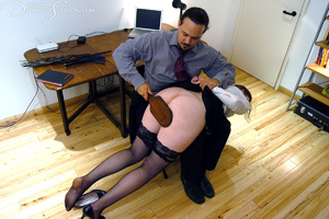 Hot secretary in glasses and stockings g - XXX Dessert - Picture 12