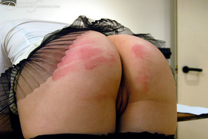 Big boss gets horny when spanking his gi - XXX Dessert - Picture 13
