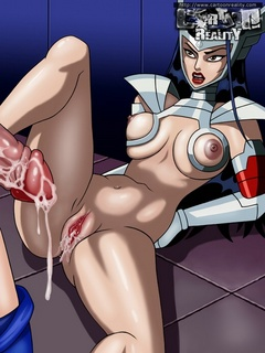 Hot cartoon vixen from avengers get banged - Cartoon Sex - Picture 3