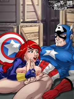 Famous cartoon character the Iron man gets - Cartoon Sex - Picture 2