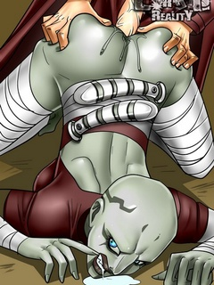 Horny Obi-Wan screws is boner into alien - Cartoon Sex - Picture 3
