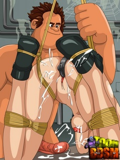 Big horny dude pounding rudely hot - BDSM Art Collection - Pic 3