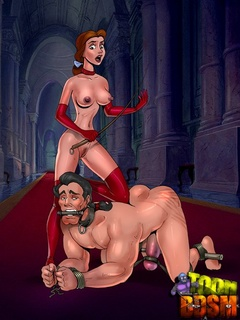 Toon Anastasia adores dominating her - BDSM Art Collection - Pic 2