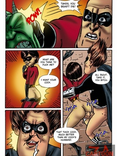 Awesome porn parody with famous Elastigirl handling - Picture 3