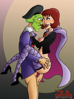 Inimitable Mask adores fucking sexy chicks - Cartoon Sex - Picture 2