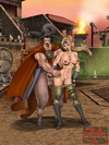 Magnificent babes from Mortal Kombat gets banged…