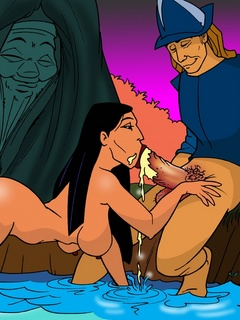 Dirty Indian whore Pocahontas gets her cooch - Cartoon Sex - Picture 2