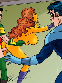 Nasty Teen Titans get banged filthily in hot - Cartoon Sex - Picture 3