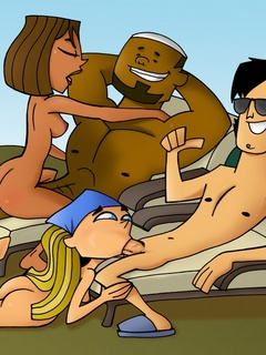 Pervert characters of Total Drama Island - Cartoon Sex - Picture 2