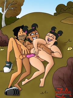 Lewd heroes of Total Drama Island adore hard - Cartoon Sex - Picture 3