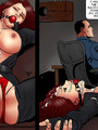 Kinky bdsm art story with blonde and - Picture 4