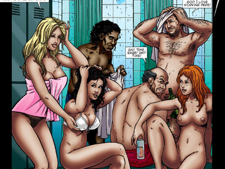 Unbelievable bdsm comic story with hot - BDSM Art Collection - Pic 2