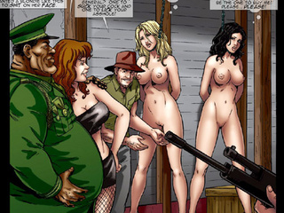 Poor girls enchained and hung with - BDSM Art Collection - Pic 3