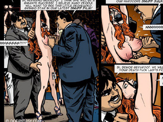 Magnificent bdsm drawn story about some - BDSM Art Collection - Pic 3