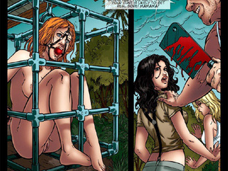 Hot chicks get seized by kinky - BDSM Art Collection - Pic 4