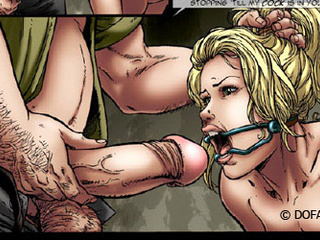 Poor girls enchained and hung with - BDSM Art Collection - Pic 5