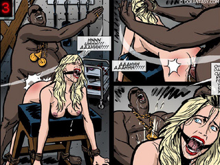 Hot bound and gagballed chicks get - BDSM Art Collection - Pic 3