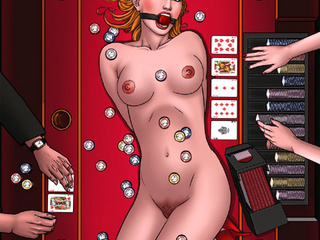 Breathtaking gals are getting jeered - BDSM Art Collection - Pic 1