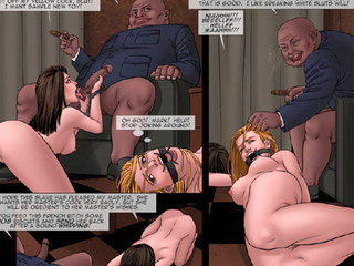 Gorgeous chicks enchained and with - BDSM Art Collection - Pic 1