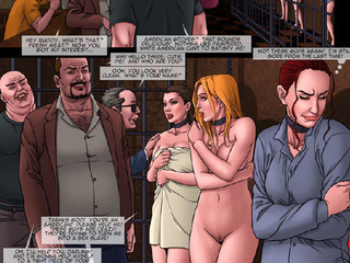 Gorgeous chicks enchained and with - BDSM Art Collection - Pic 2