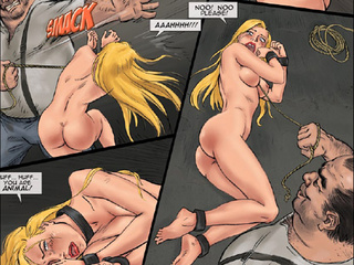 Very hot enslaved girls in cuffs and - BDSM Art Collection - Pic 5