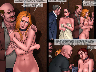 Gorgeous chicks enchained and with - BDSM Art Collection - Pic 3