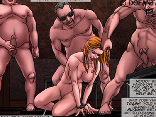 Gorgeous chicks enchained and with - BDSM Art Collection - Pic 5
