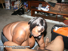 Enormous black bitch with tattoos gets her face - XXXonXXX - Pic 7