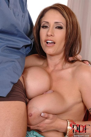 Sexy busty mom jumping on a long dong wi - XXX Dessert - Picture 8