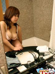 Bodacious pics with lovely Japanes girl gets naked - XXXonXXX - Pic 3